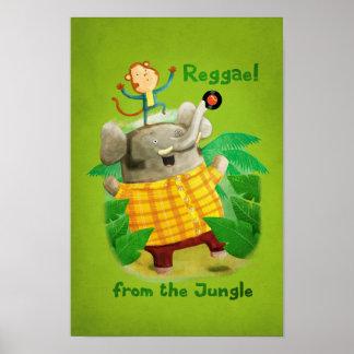 Reggae da selva poster