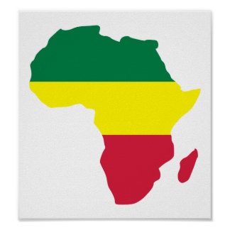 Reggae de África Poster