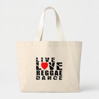 REGGAE. Design Sacola Tote Jumbo