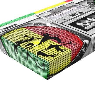 reggae do boombox impressão em tela