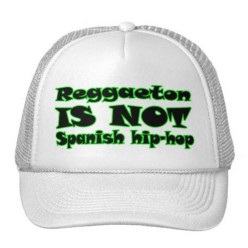Reggaeton NÃO É hip-hop espanhol Bonés