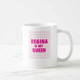 Regina é minha rainha caneca