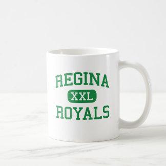 Regina - Royals - segundo grau - Euclid sul Ohio Caneca