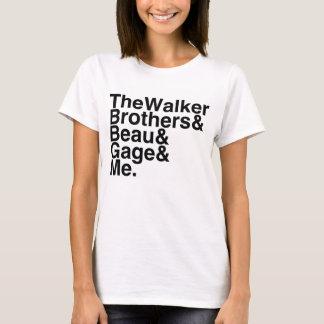 Registre o noivo os irmãos do caminhante, Beau, Camiseta