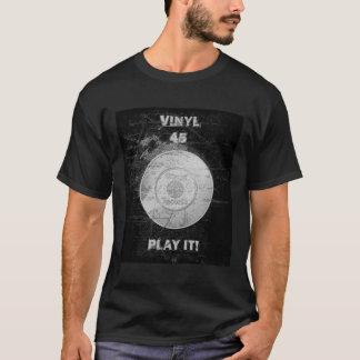 Registro do VINIL 45 RPM Camiseta