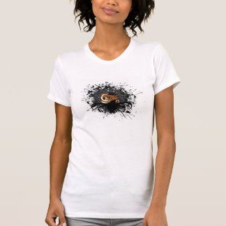 Registros da conexão - *Ladies Shirt* do Splatter Tshirt