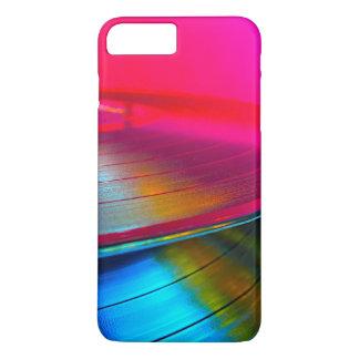 Registros de vinil magentas capa iPhone 7 plus