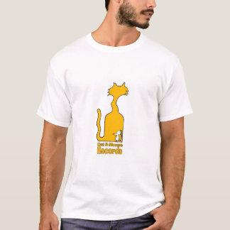 Registros do gato & do rato camiseta