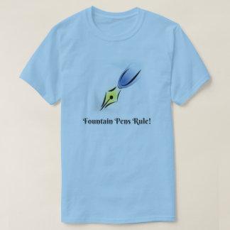 Regra das canetas e dos Nibs de fonte Camiseta