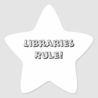 Regra de bibliotecas! Etiquetas