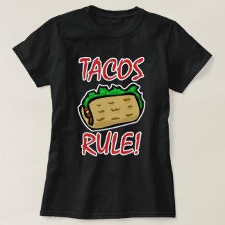 Regra do Tacos! Camiseta