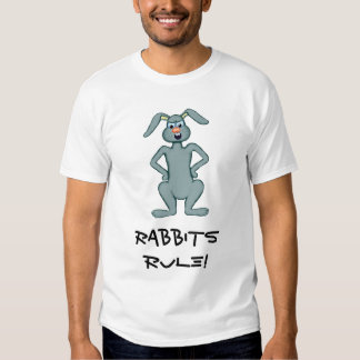 Regra dos coelhos! tshirts
