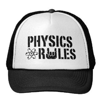 Regras da física boné