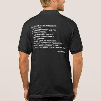 Regras para datar meu t-shirt da filha para pais
