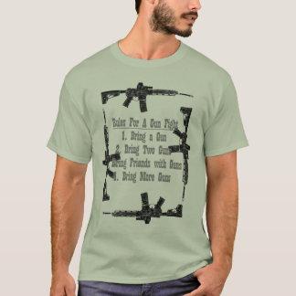 Regras para uma luta da arma camiseta