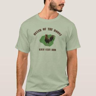 Régua do t-shirt de Kauai da capoeira Camiseta