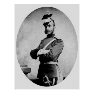 Rei Alfonso XII da espanha Cartão Postal
