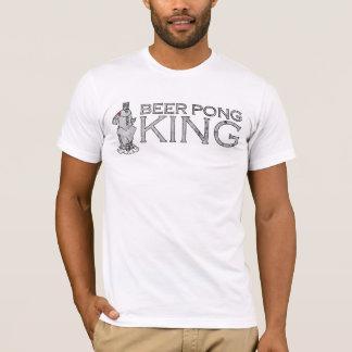 Rei camisetas de Pong da cerveja