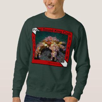 Rei caranguejo de Puget Sound - camisas Suéter