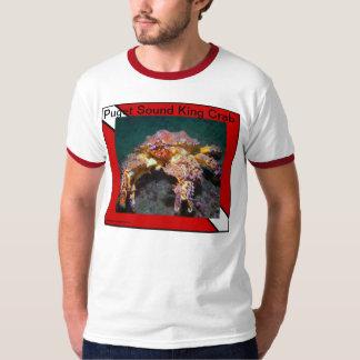 Rei caranguejo de Puget Sound - camisas Tshirts