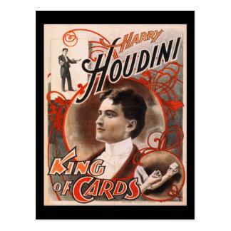 Rei Cartão de Harry Houdini