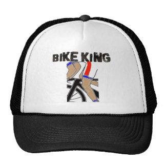 Rei da bicicleta boné