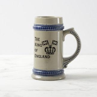 Rei da caneca de cerveja da cerveja de Inglaterra