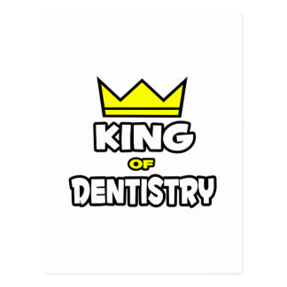 Rei da odontologia cartao postal