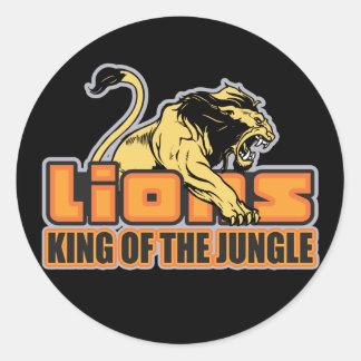 Rei da selva adesivo