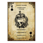 Rei das pás - cartão de visita