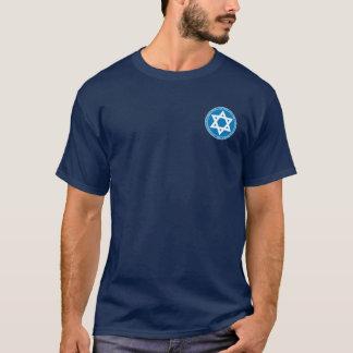 Rei David Azul & camisa do selo do branco