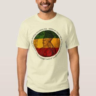 Rei de Haile Selassie dos reis T-shirt