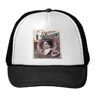 Rei de Harry Houdini do vintage da propaganda dos  Boné