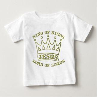 Rei de JESUS do inclinação verde dos reis od Tshirts