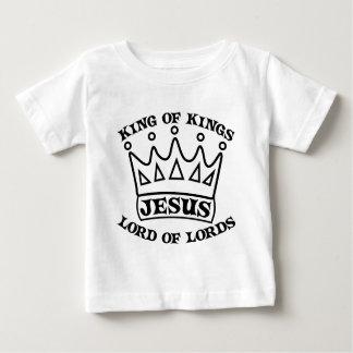 Rei de JESUS do preto dos reis T-shirts