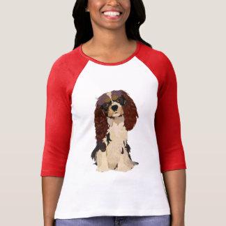 Rei descuidado Charles Cão T-shirt