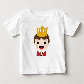 Rei do bebê camiseta para bebê