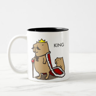 Rei do capybara. Caneca
