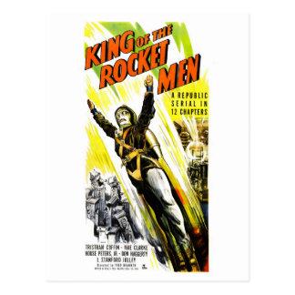 Rei do cartão dos homens de Rocket