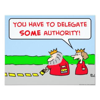 rei do delegado da autoridade convite personalizado
