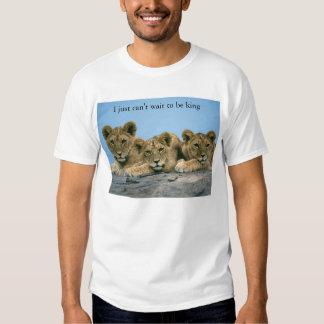 rei do leão t-shirts