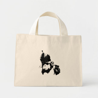 Rei do macaco dos grafites bolsa tote mini