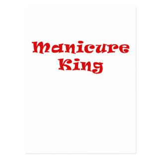 Rei do Manicure Cartão Postal