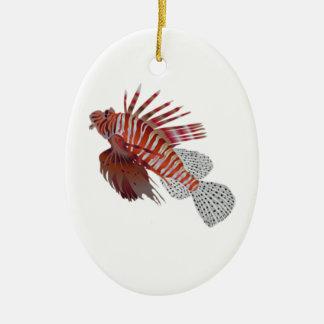 Rei do mar ornamento de cerâmica