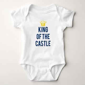 Rei do T das crianças do castelo Body Para Bebê