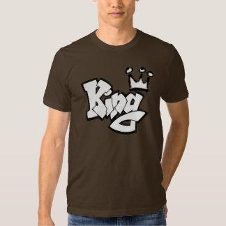 Rei dos grafites com coroa tshirt