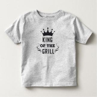 Rei engraçado da camisa da grade |