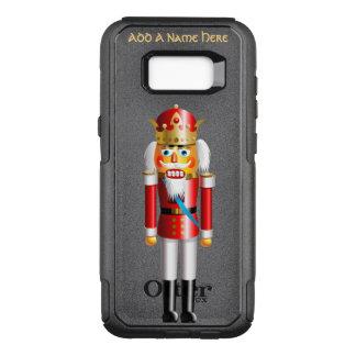 Rei engraçado do Nutcracker do Xmas Capa OtterBox Commuter Para Samsung Galaxy S8+