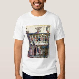 Rei f.326 Arthur e seus cavaleiros da Senhora Camiseta