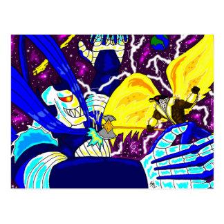 Rei Falcão contra o cartão Maniac